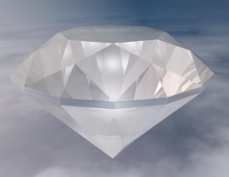 brillant: digital visualization of a diamond