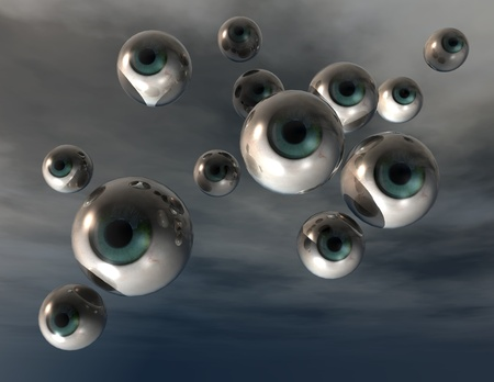 oversee: digital visualization of eyes