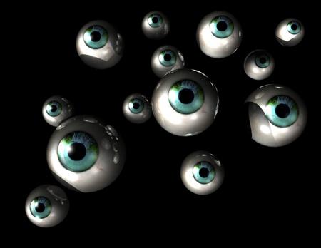 oversee: digital visualization of eyes