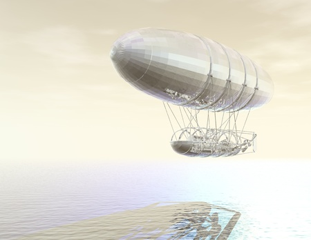 airship: digital visualization of an airship