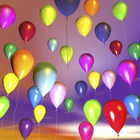 lightly: digital visualization of balloons