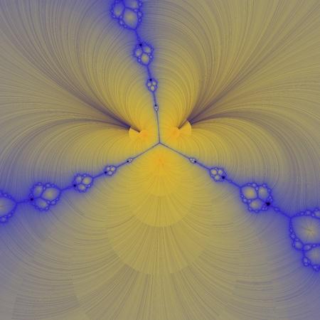 digital visualization of a fractal Stock Photo - 21708360