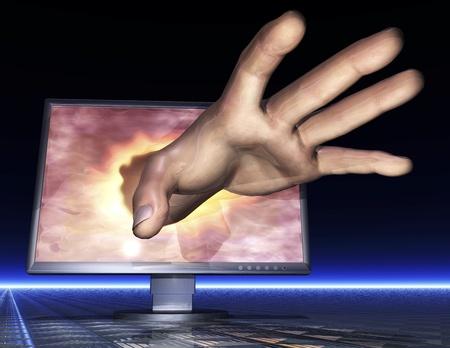 espionage: Digital Visualization of Phishing Montor