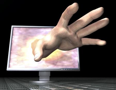 security gap: Digital Visualization of Phishing Montor