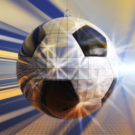 Digital Illustration of a Soccer Party