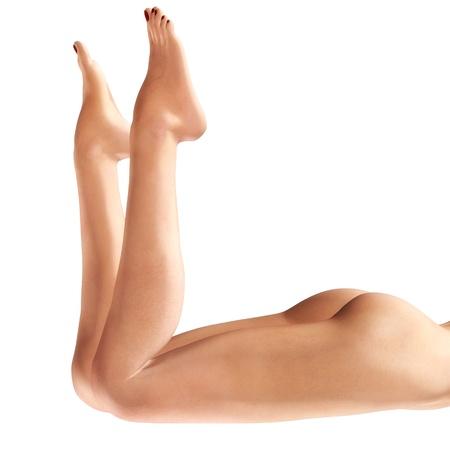 3d nude: Digital Illustration of female Legs