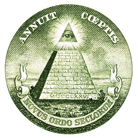 Détail d'un Billet de dollars Banque d'images - 21804248