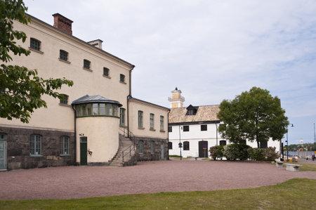 barracks: Karlskrona in Sweden