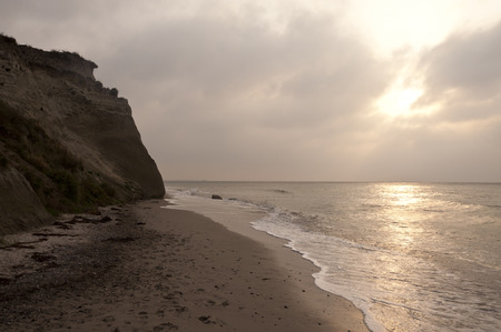 Cliffline of Ahrenshoop on Darss in Germany photo