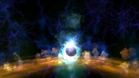 cryptic: Magic Visualization Stock Photo