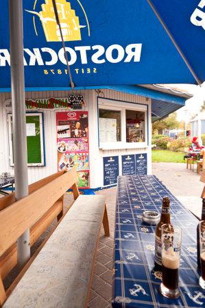 biergarten: Snack bar in Wustrow, Germany