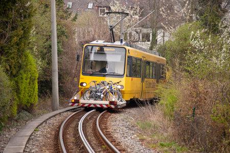 Rack Railway in Stuttgart, Germany