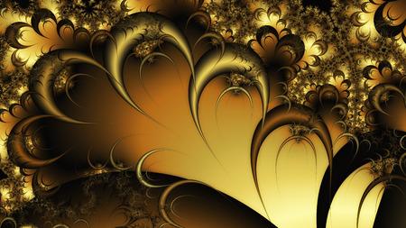 Digital Illustration of a fractal Structure