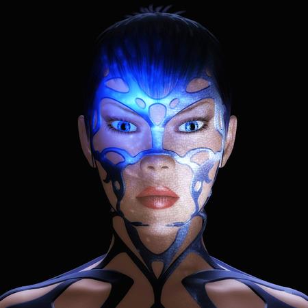 Digital Rendering of a Female photo