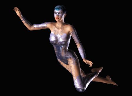 utopian: Digital Rendering of a Female