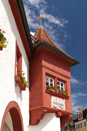 bayern old town: In the old Town of Marktredwitz in Germany