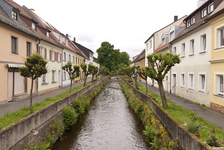 bayern old town: Floss in Upper Palatinate in Germany Stock Photo