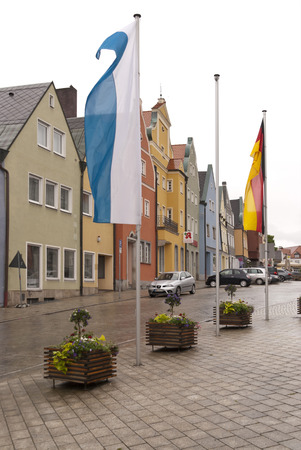 bayern old town: In the old Town of Neustadt in Germany Editorial