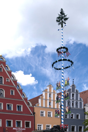 bayern old town: In the old Town of Weiden in Germany Editorial