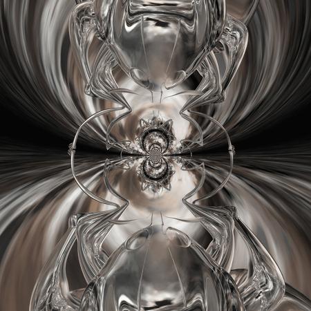 Digital rendering of an ant photo