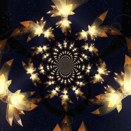 light reflex: Digital visualization of crystals