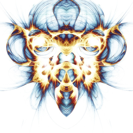 meditative: Digital Visualization of a fractal Structure