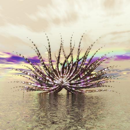 lifeform: Digital Visualization of a fractal Structure