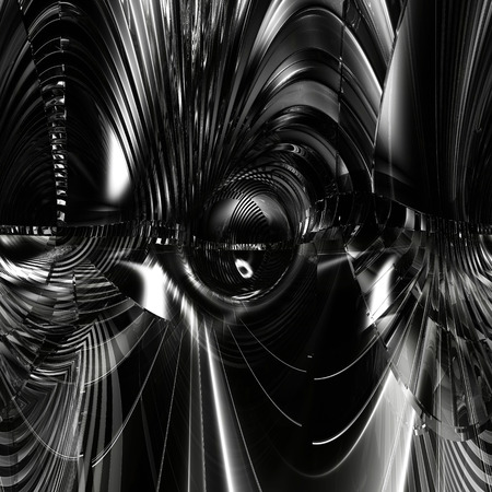 organic fluid: Digital Illustration of a surreal abstract Structure