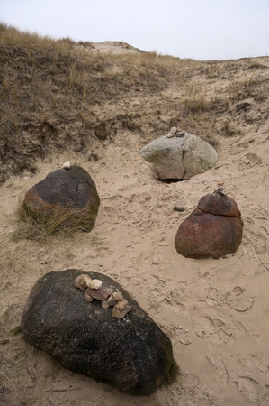 ���stone age���: Stone Age Tomb Site on Amrum in Germany