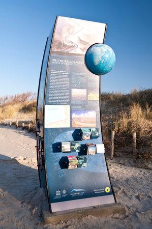 meer: Beach of Amrum In Germany