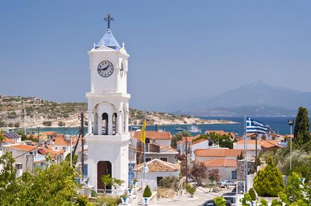 the orthodox church: Orthodox Church on Samos in Greece Stock Photo