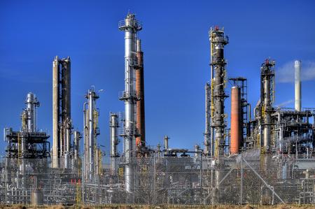hdri: Oil Refinery in Germany