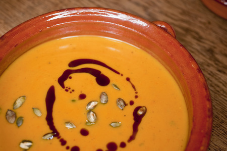 pumpkinseed: cooking pumpkin soup