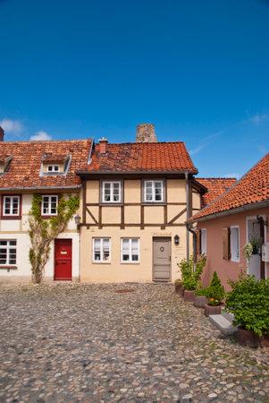 Buildings in Quedlinburg, Germany