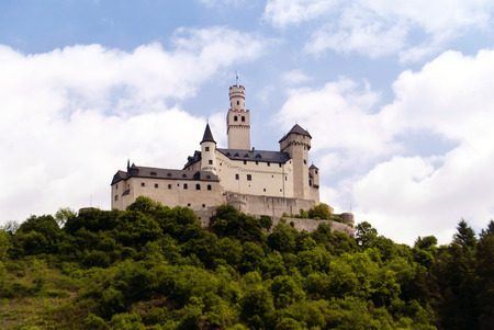 rheintal: Marksburg am Rhein bei Braubach
