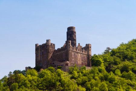 rhein: Burg Maus am Rhein