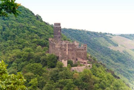 tourismus: Burg Maus am Rhein