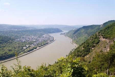 Burgen Sterrenberg und Liebenstein am Rhein