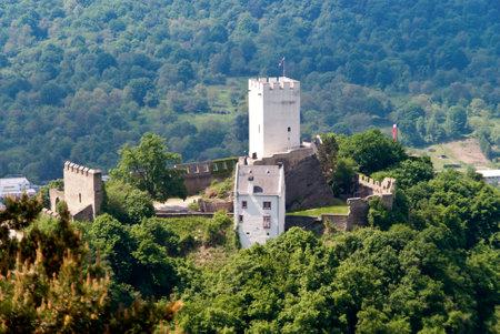 rhein: Burg Sterrenburg am Rhein