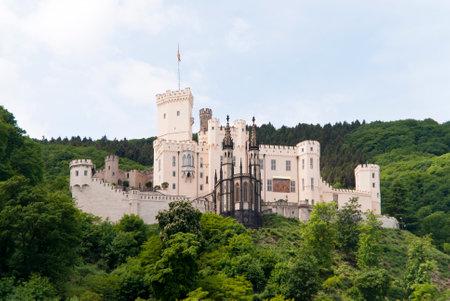 rhein: Burg Stolzenfels am Rhein