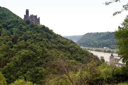 rheintal: Burg Maus am Rhein