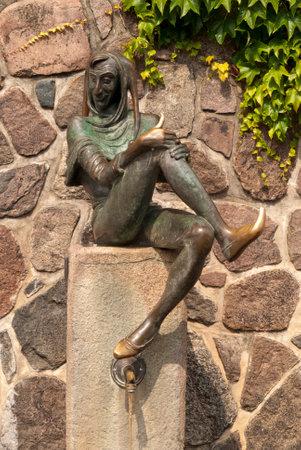 antics: Eulenspiegel Fountain in Mölln, Germany