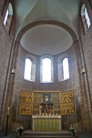 dom: Int�rieur du Dom de Ratzeburg en Allemagne