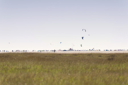 channel surfing: On the Beach of St. Peter-Ording in Germany