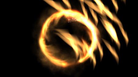 mystic: Digital Illustration of a mystic Fire