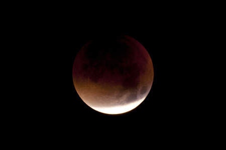 observed: Total Lunar Eclipse on Sept. 28, 2015, observed in Kiel, Germany, through a Telescope Editorial