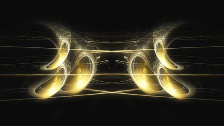 imagine a science: Digital Illustration of a Fractal