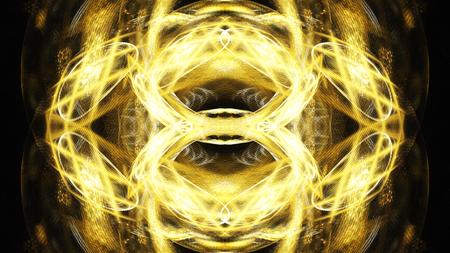 Digital Illustration of a Fractal