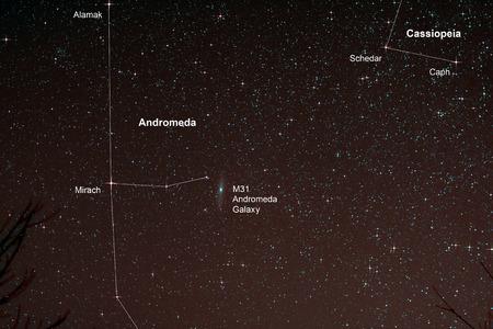 starfield: Astro Photo: Starfield with Andromeda Galaxy