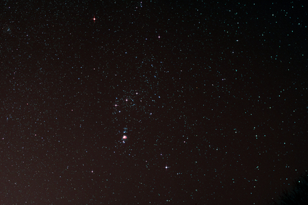 astrophoto: Astro Photo: Starfield with Orion and Orion Nebula